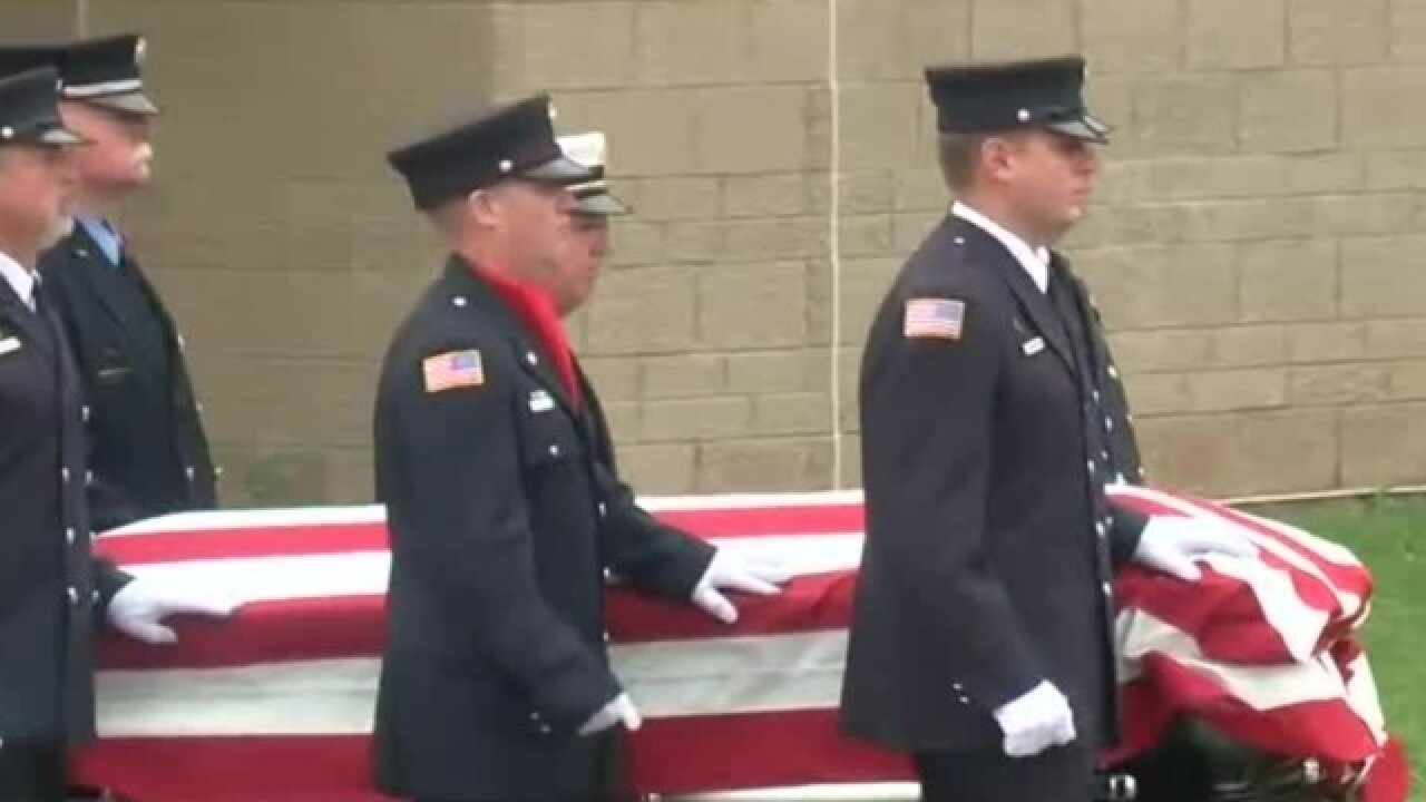 Funeral held for Sun Prairie firefighter