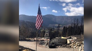 'There isn't a dish, there isn't a fork, there's nothing:' Bridger Canyon family recalls losing home to wildfire