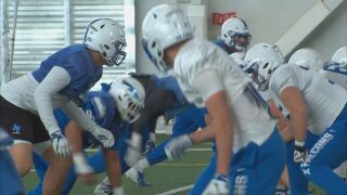Air Force preparing for Washington State's prolific Air Raid offense in bowl game