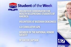 Student of the Week: Holly Angell