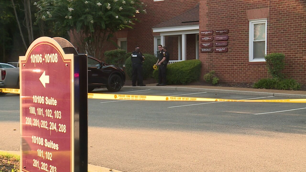 Man found beaten in Chesterfield office: 'There was blood everywhere'