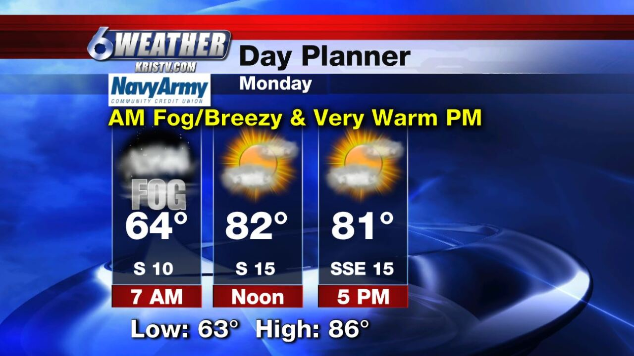 6WEATHER Day Planner for Monday 12-9-19.JPG