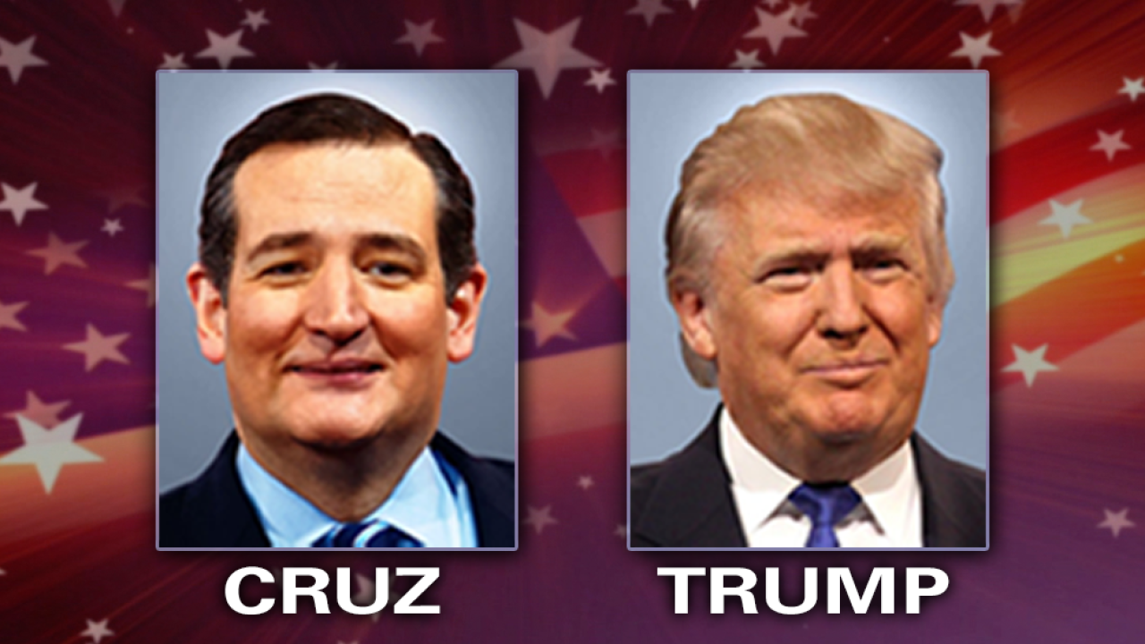 Trump on Cruz: 'He's bribing people, essentially' for delegates
