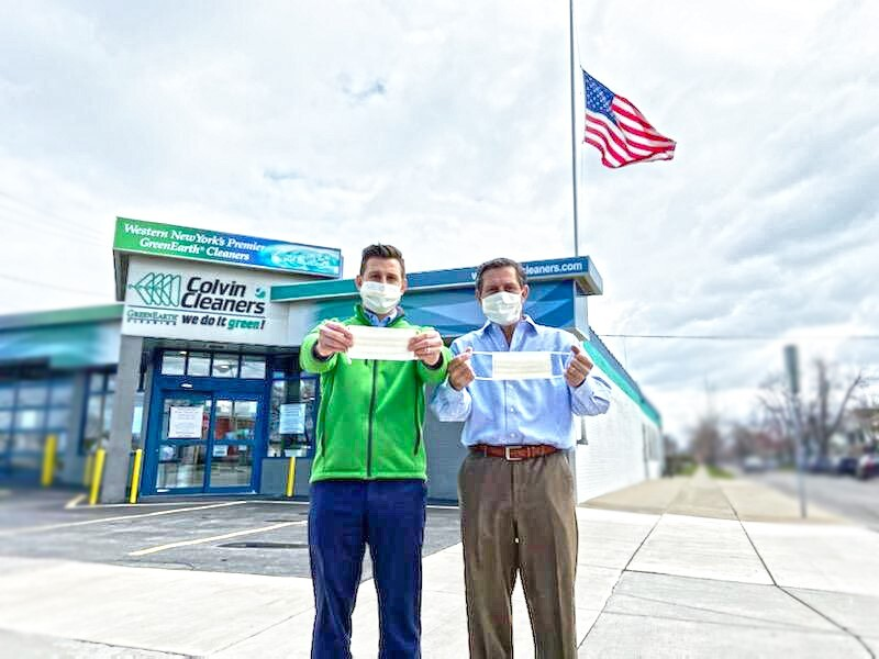 Colvin Cleaners Mask Program