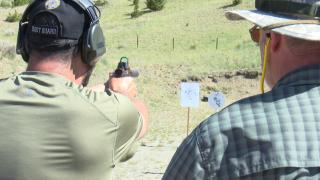 Last Chance Handgunners host Semper Fi Steel Challenge