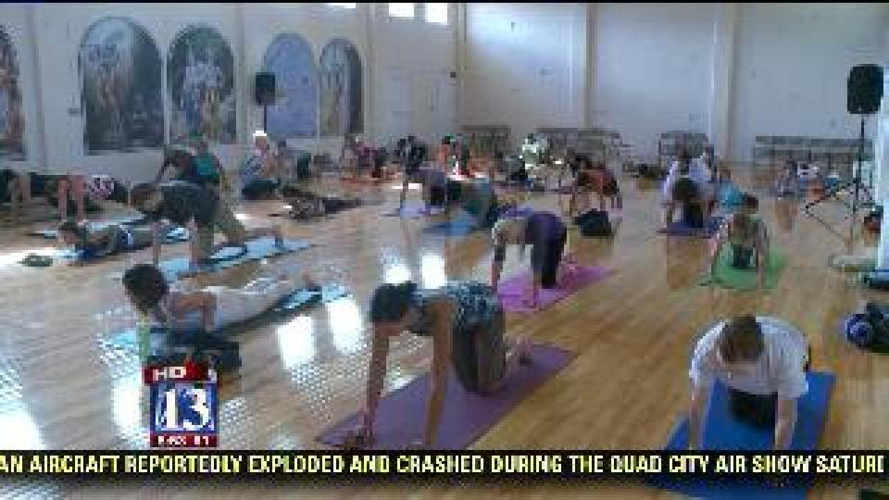 Salt Lake Krishna temple hosts YogaFest