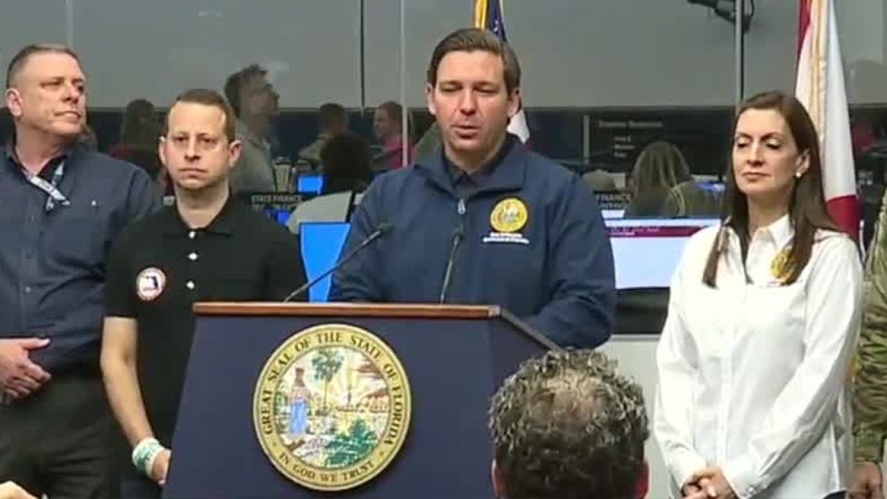 Gov. DeSantis plans to send Florida supplies to Bahamas following state's brush with Dorian