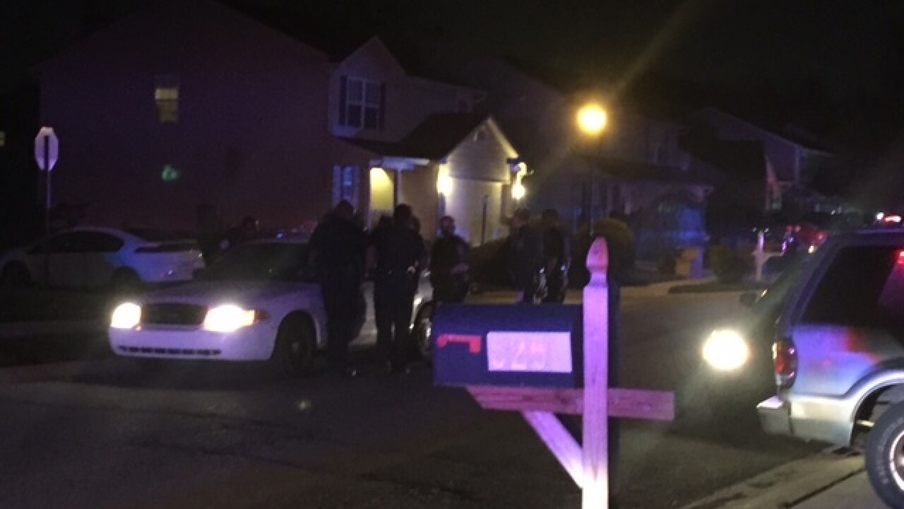 SCENE: 2-year-old killed in shooting on NW side