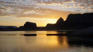 GLCA - Scenic Lake Powell Sunset. NPS Photo..jpg