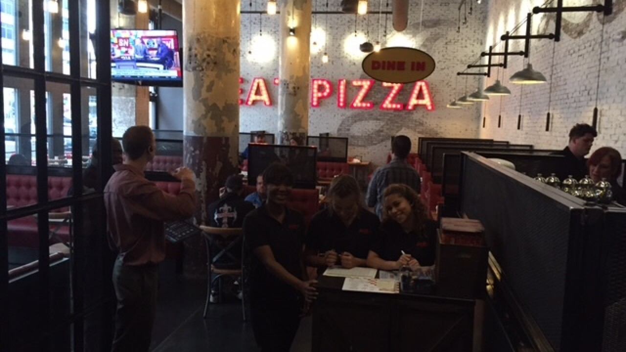 FIRST LOOK: Giordano's opens in downtown Indy