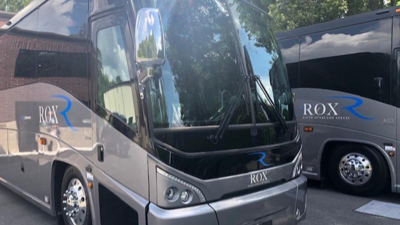 The Rox luxury bus service