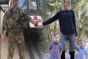 Military family celebrates holidays with touching Christmas card