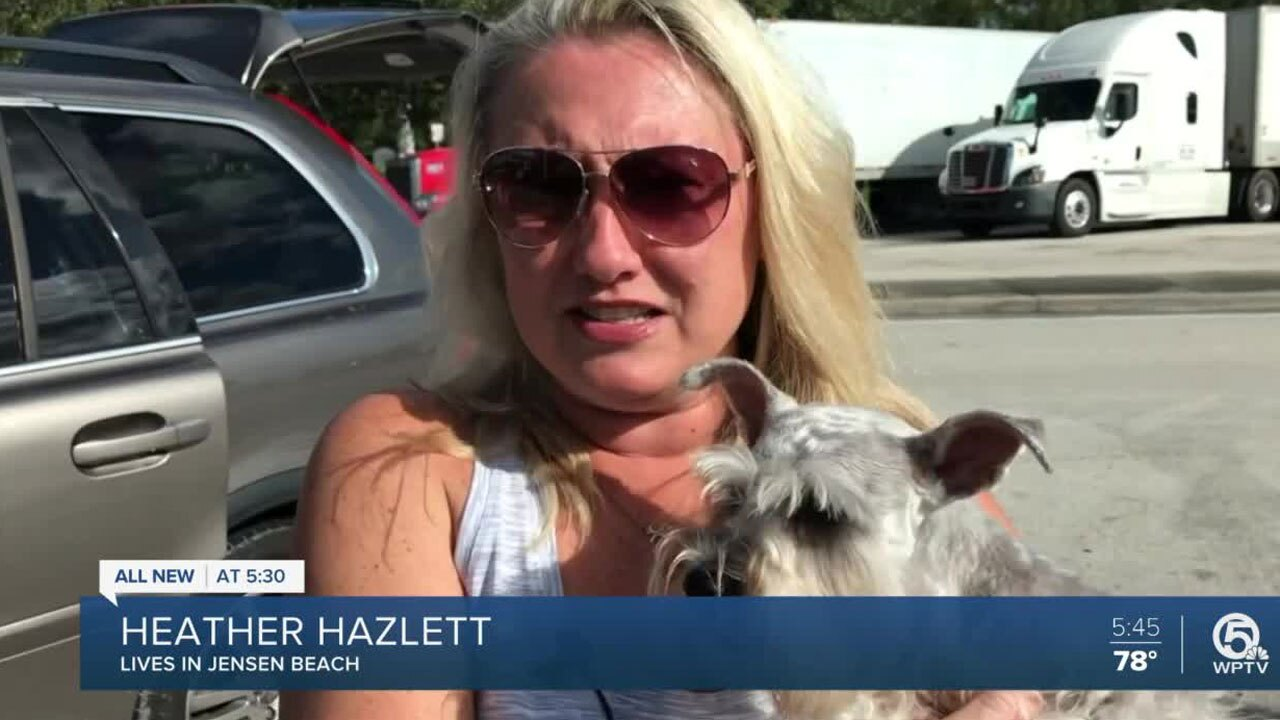 Heather Hazlett, Jensen Beach resident