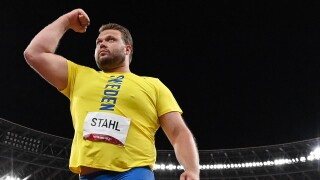 Daniel Stahl adds gold to world title in Swedish one-two