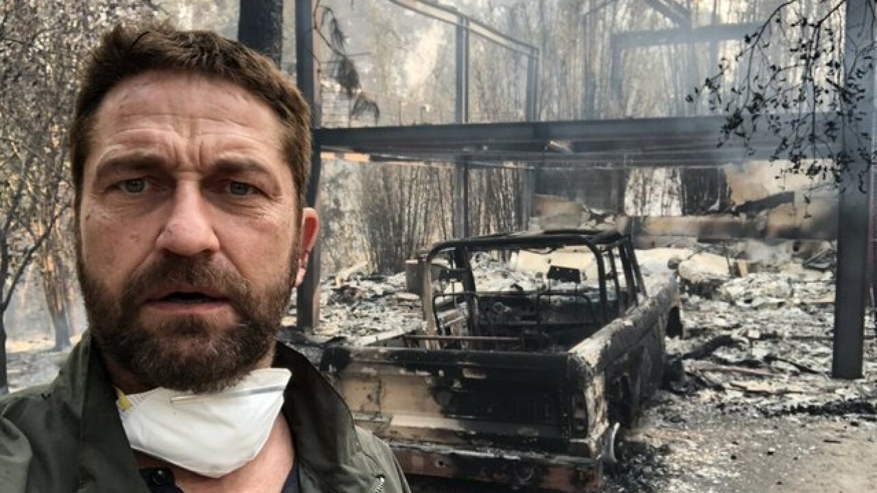 Celebrity homes, movie sets destroyed in Woolsey Fire