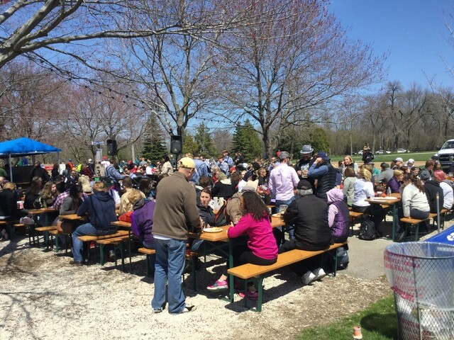GALLERY:  Estabrook Park Beer Garden Opening Day