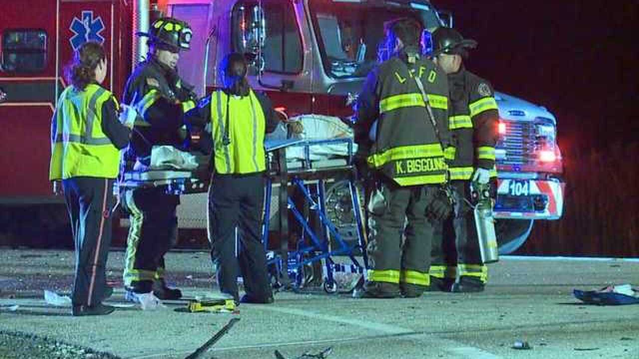 Several injuries in serious crash on S.R. 82