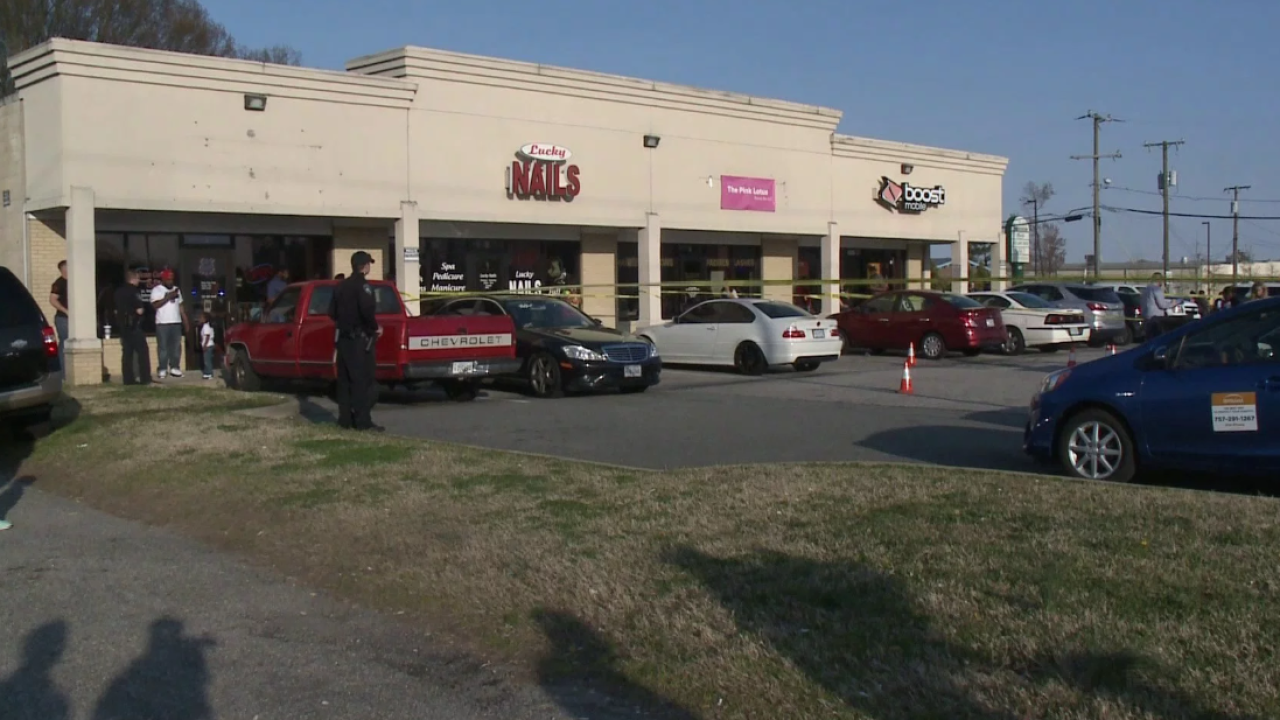 Witnesses say woman shot to death after man followed her out of Virginia nailsalon