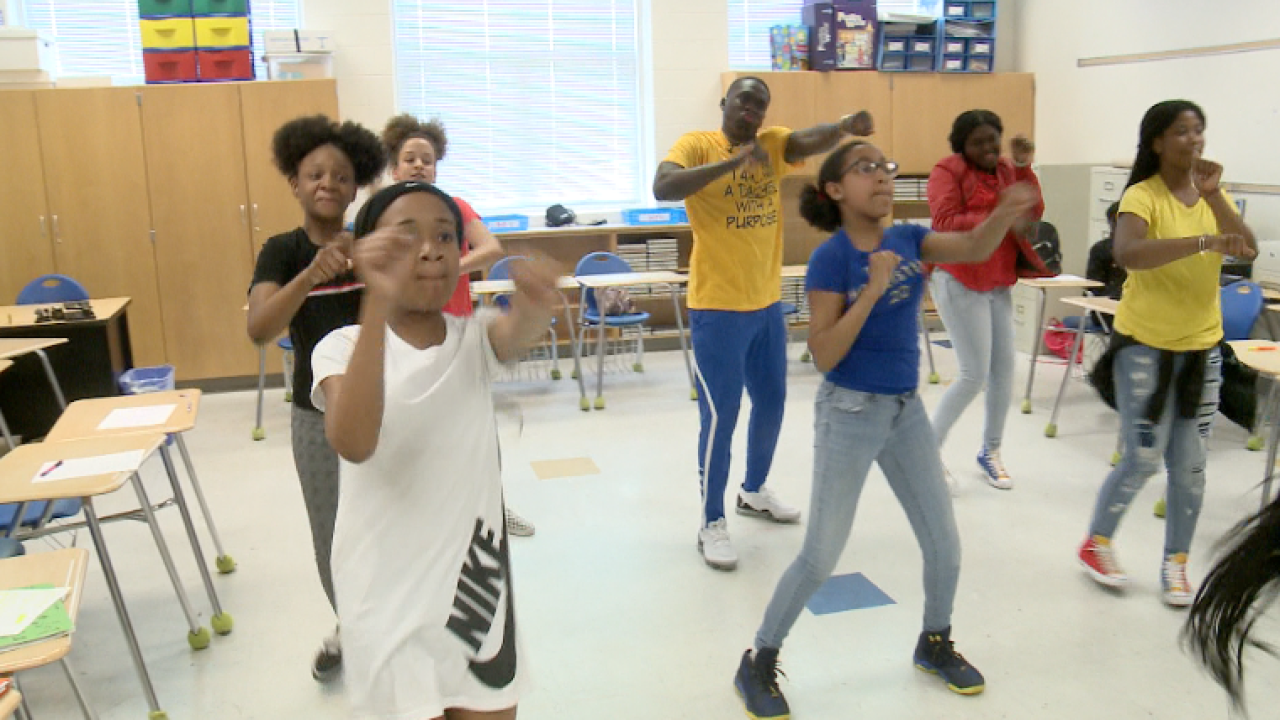 From athlete to educator, P.J. Howard is using dance to teach his mathstudents