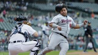 Willians_Astudillo_Minnesota Twins v Detroit Tigers
