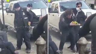 Police officer punched in head during Bronx arrest