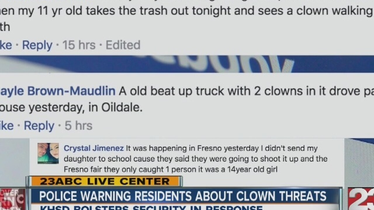 BPD says clown threats are not credible