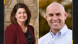 Susan Wright and Jake Ellzey are looking to replace the late U.S. Rep. Ron Wright, R-Arlington, at Texas' 6th congressional district..JPG