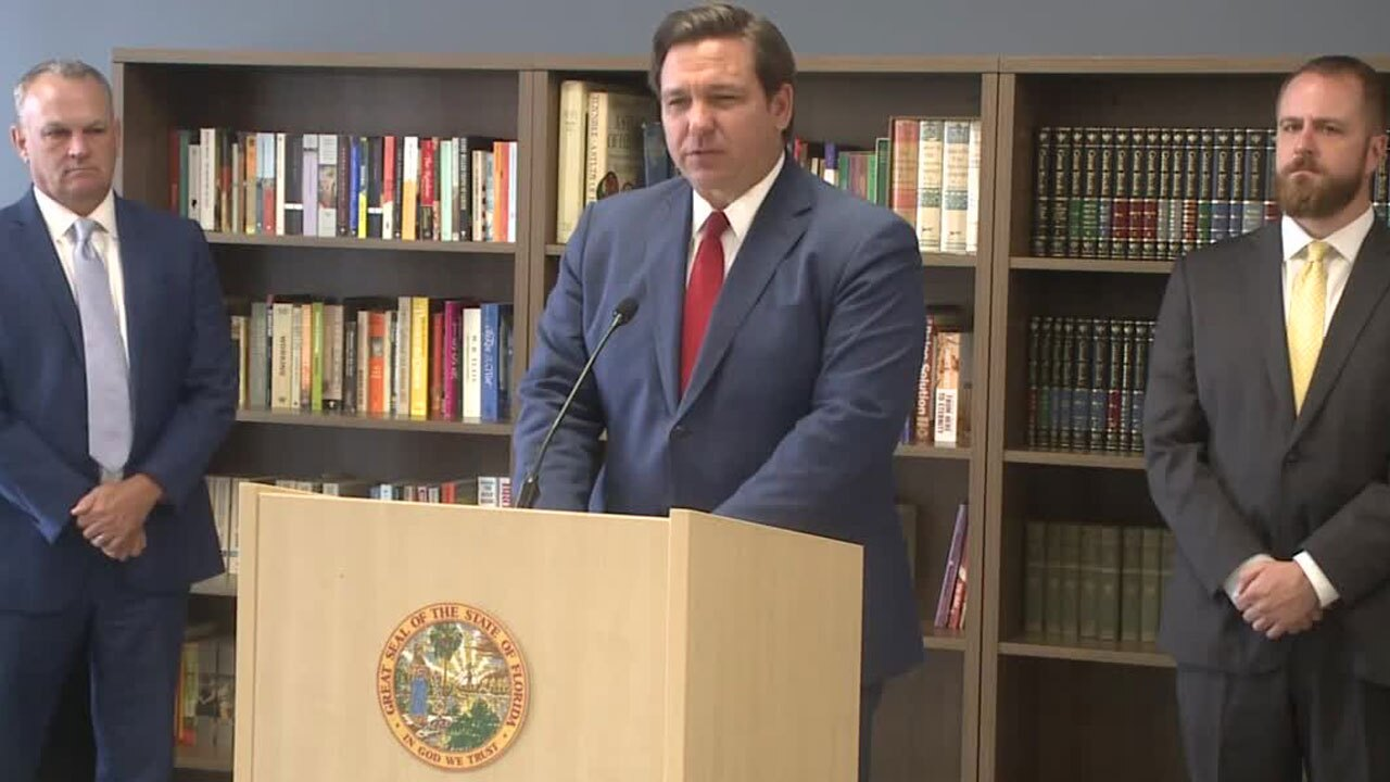 'School closures should be off the table,' Gov. Ron DeSantis says