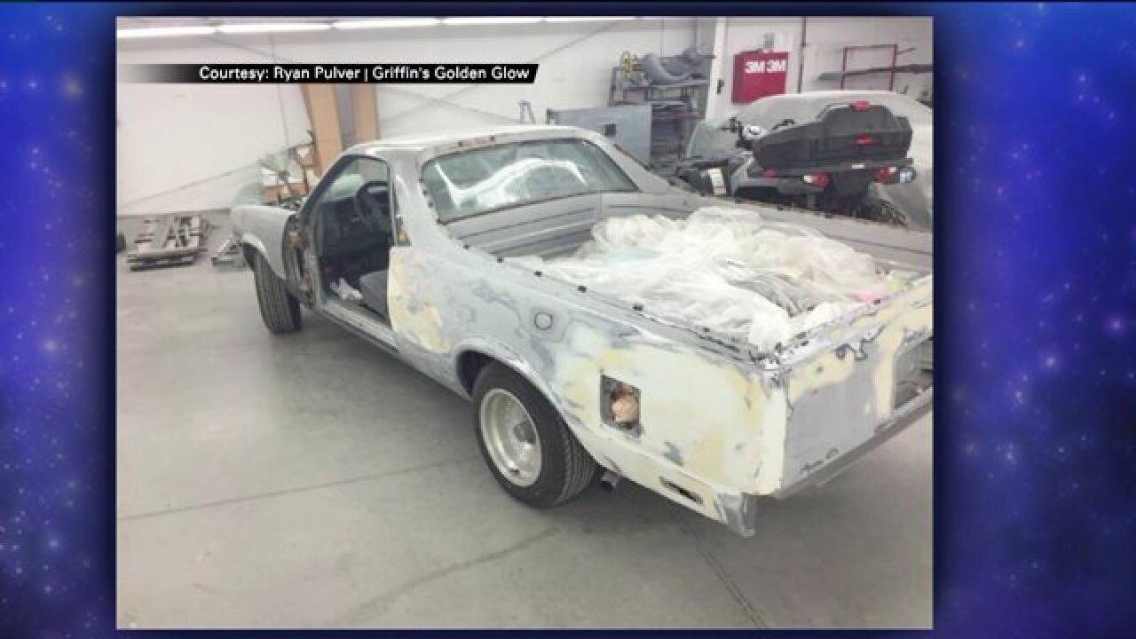 Make-A-Wish brings teen's classic car dream tolife