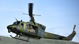 malmstrom helicopter huey