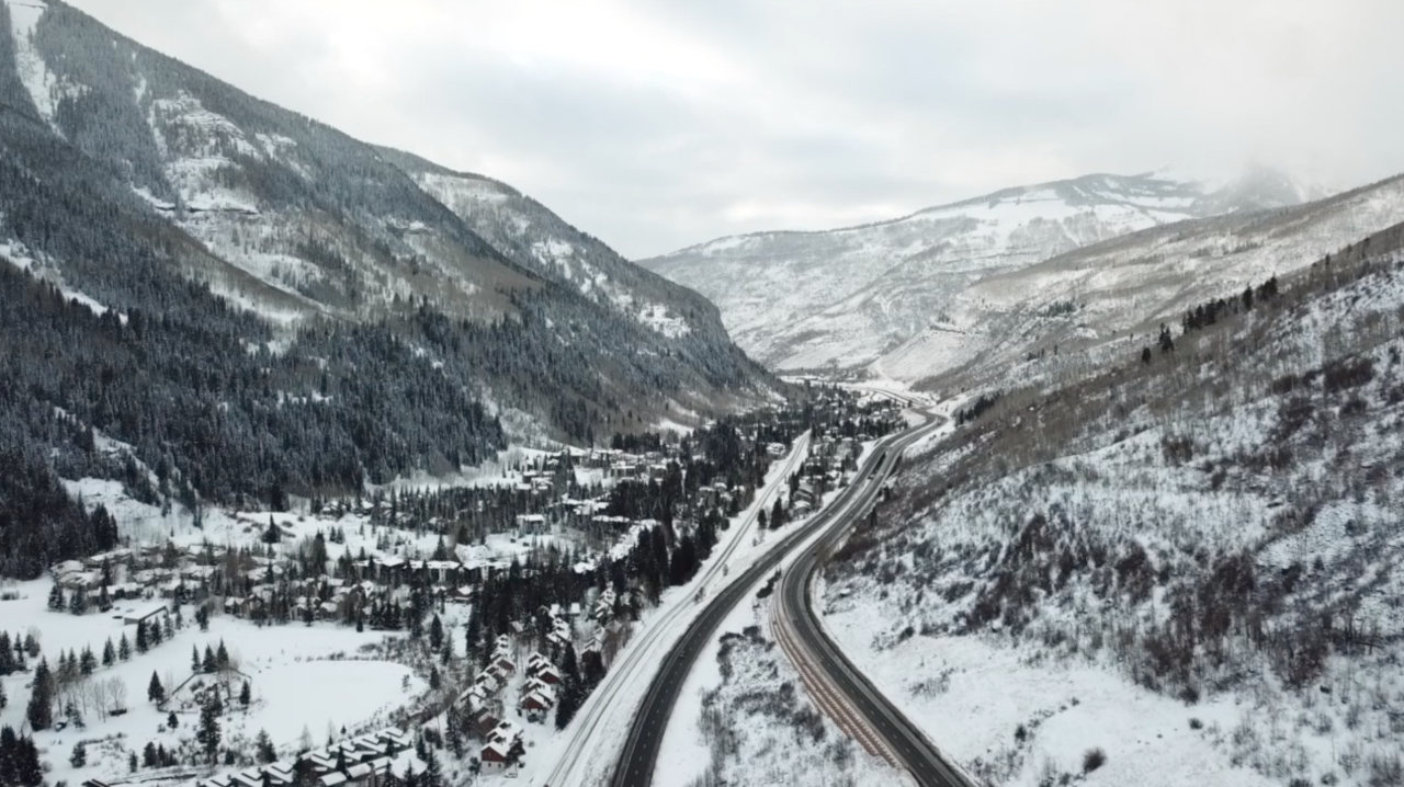 I-70 in Vail
