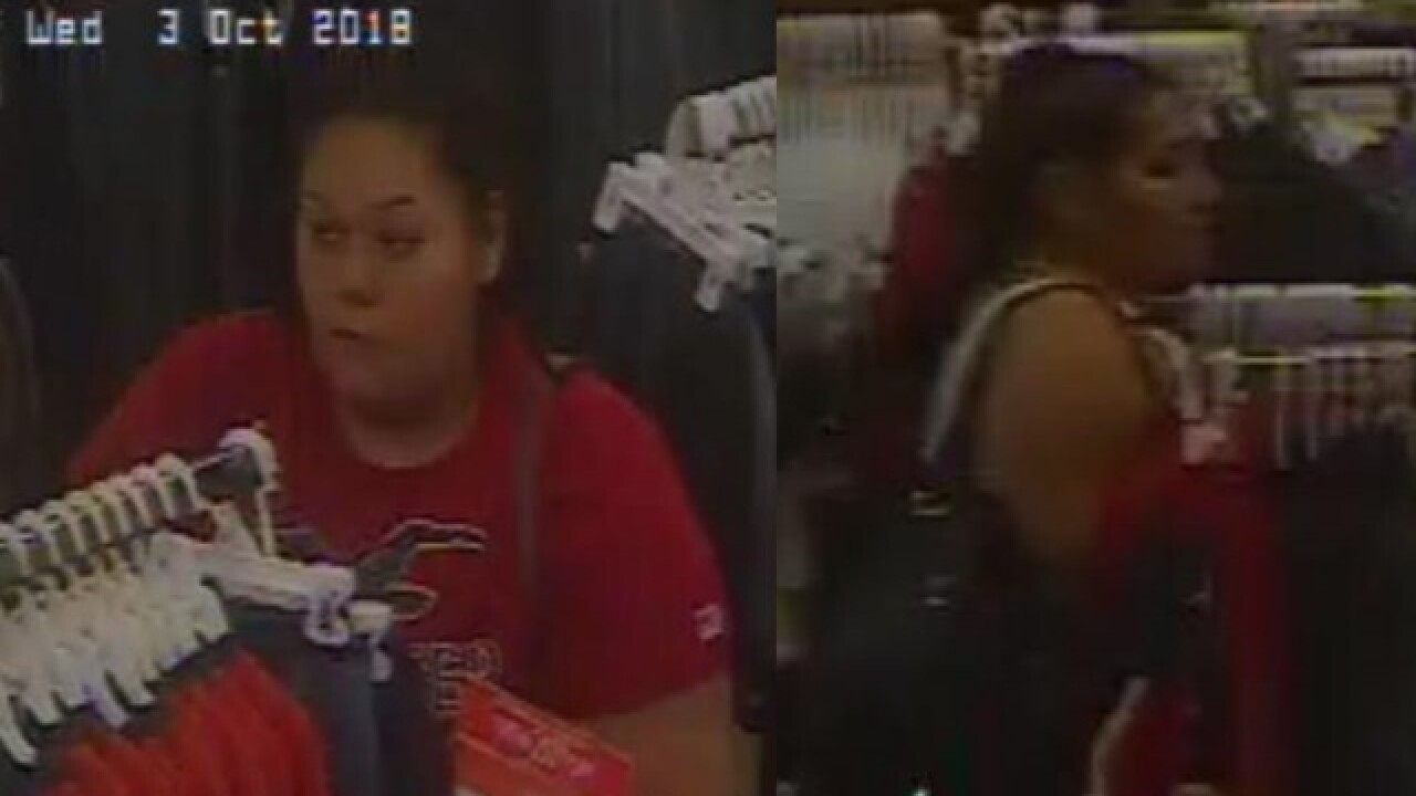 BPD searching for 4 theft suspects