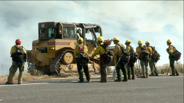 Highway Fire covering 1,500 acres, evacuation orders in place