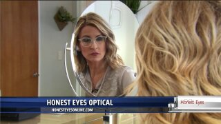 Help Leigh Ann pick out a new pair of glasses from Honest Eyes Optical