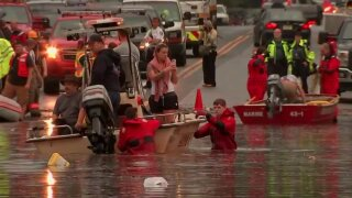 Rainstorms cause flooding on East Coast and parts of Midwest