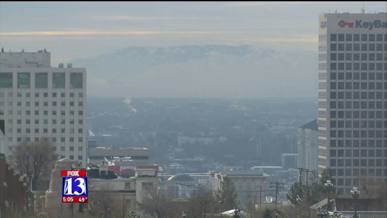 Bipartisan group of lawmakers team up to clean Utah's air