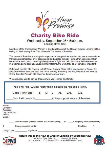 Charity Bike Ride