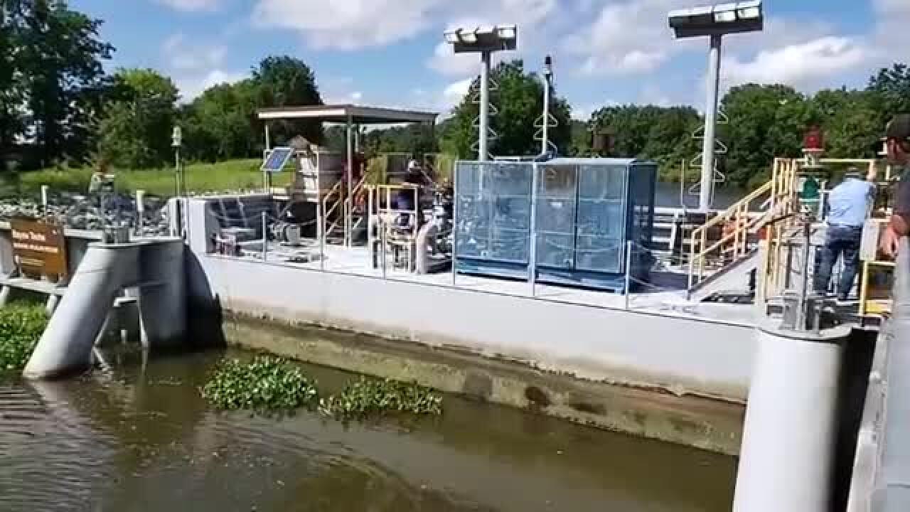Franklin Canal Floodgate