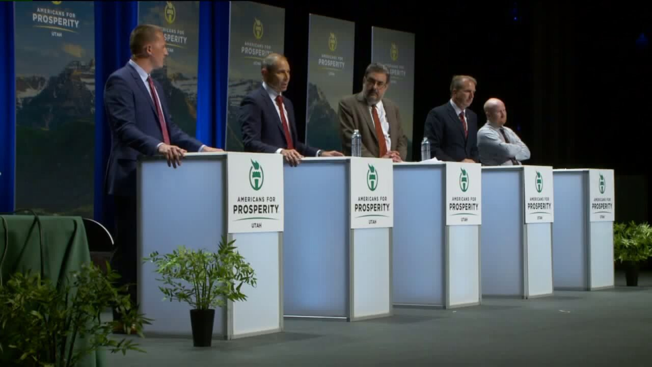 Candidates for Chaffetz's replacement debate in Provo