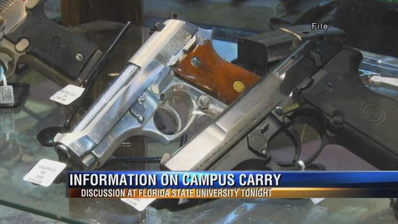 FSU Organization to Host Informational Session on Campus Carry Law