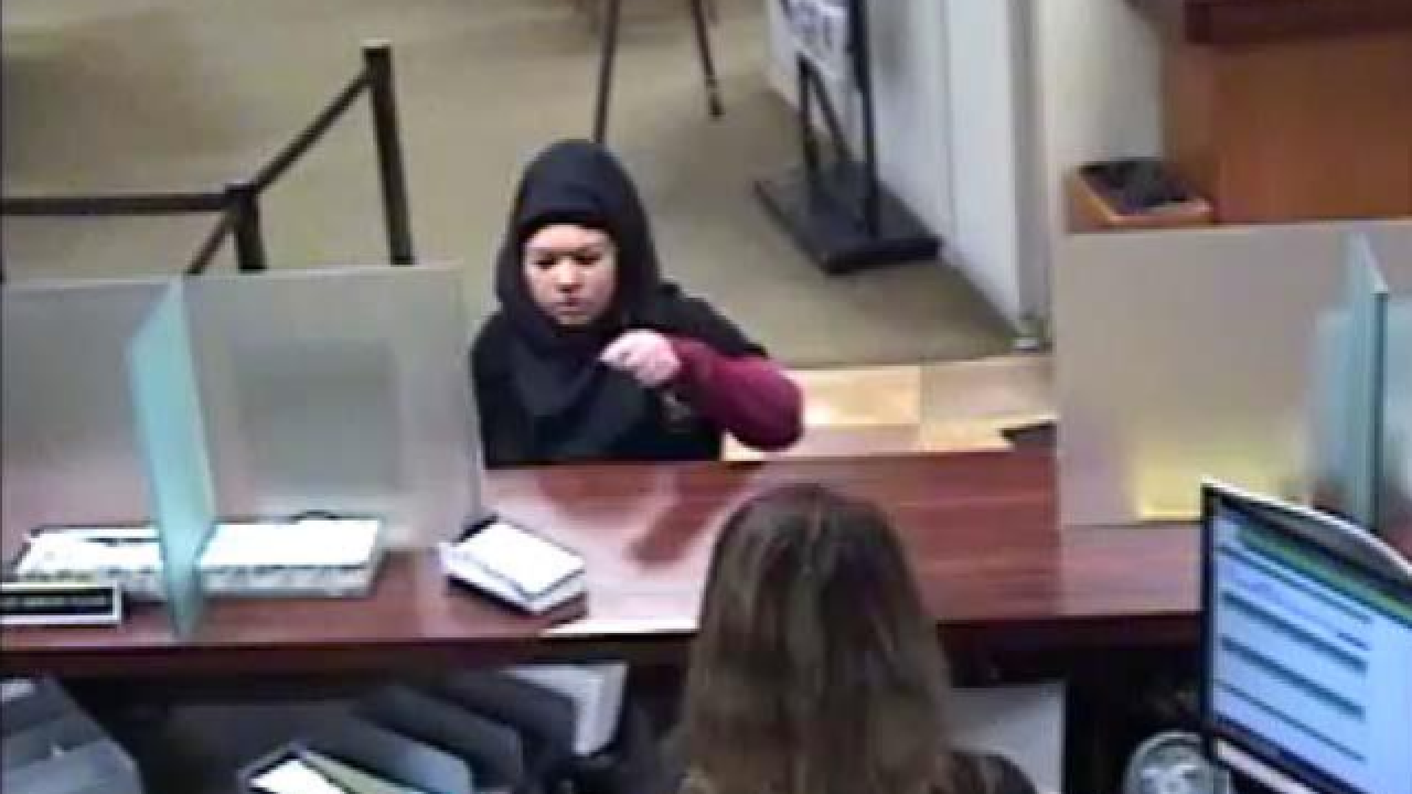 Dearborn police searching for bank robbery suspect