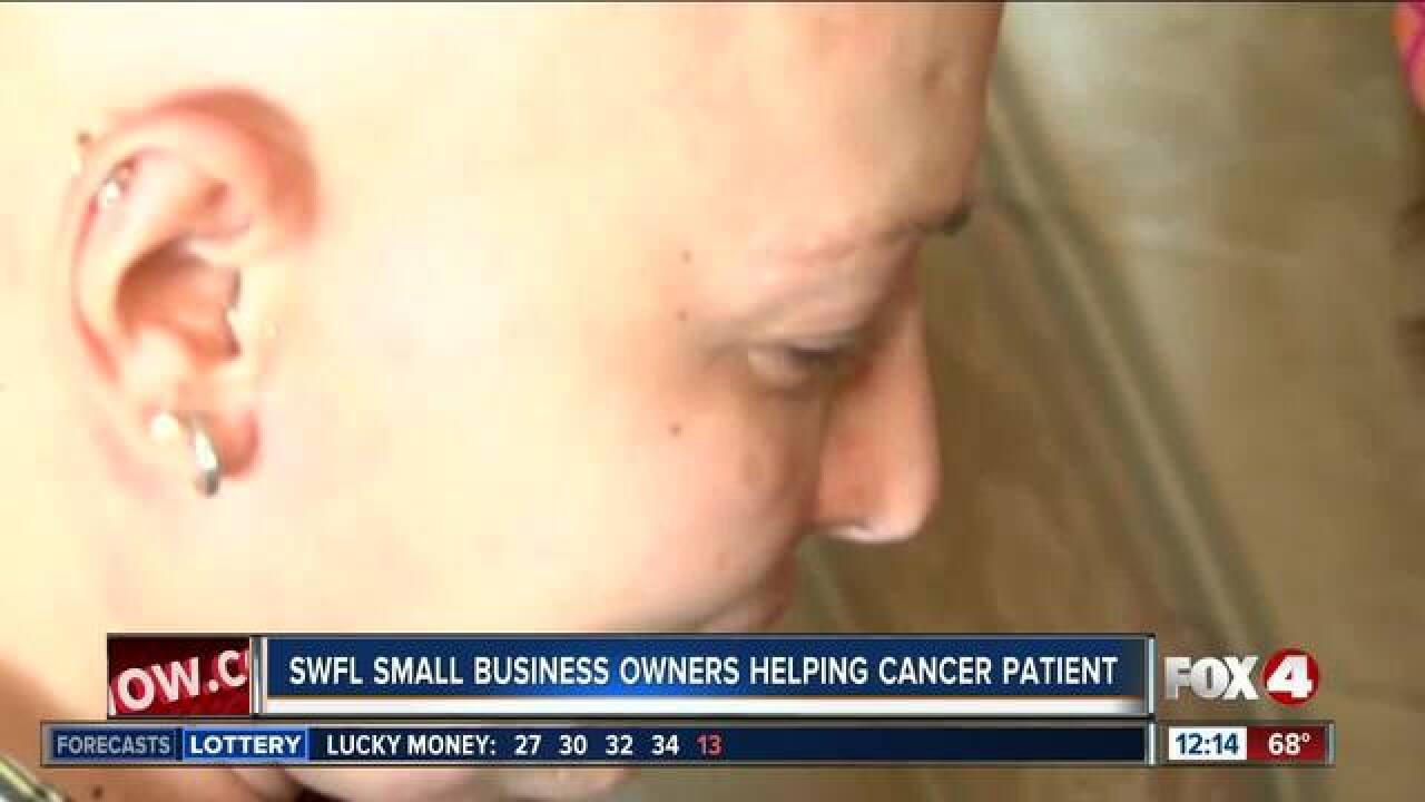 Community bands together to help cancer survivor