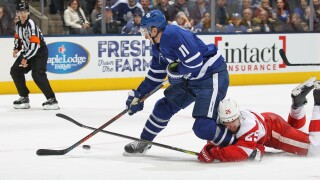 Red Wings fall to Maple Leafs, extend losing streak to three games