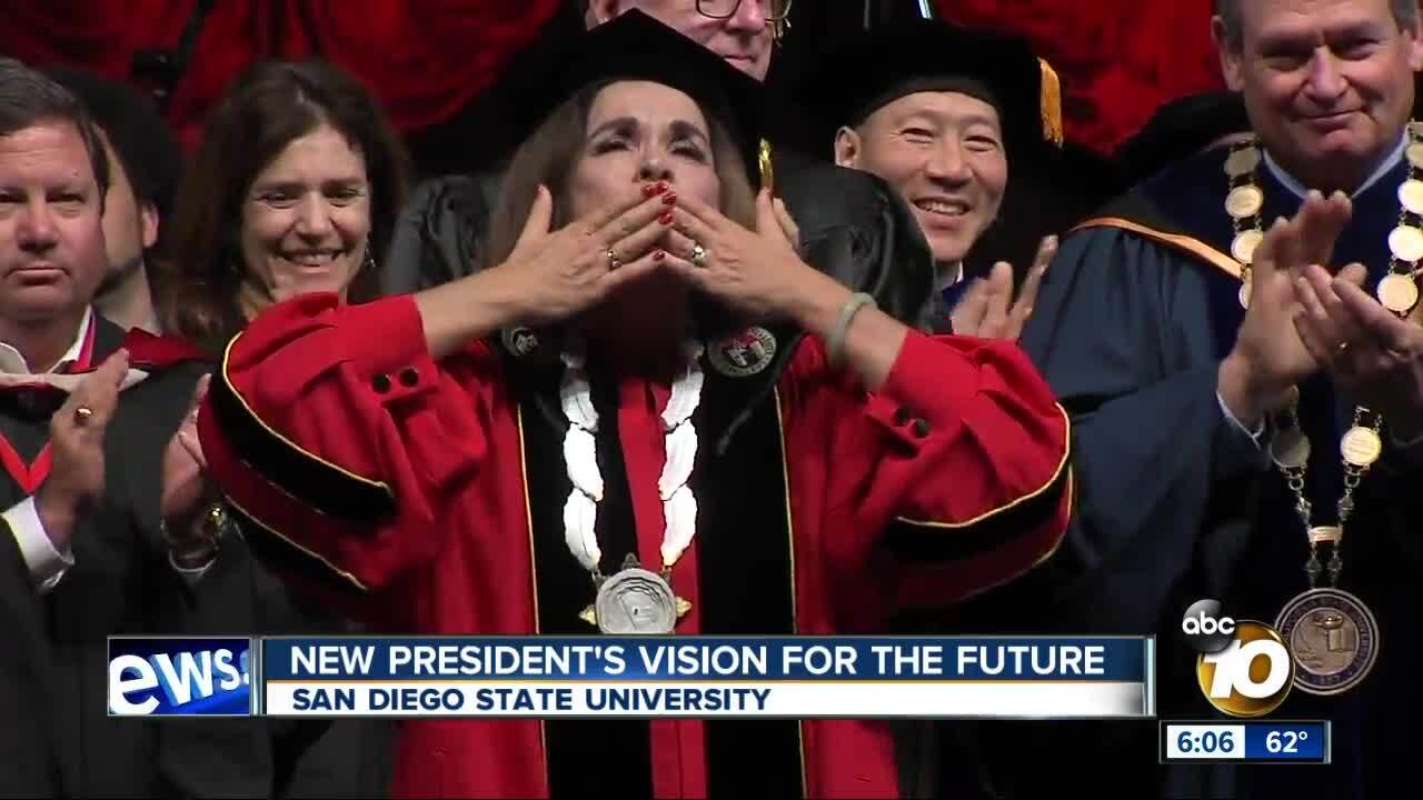 SDSU holds inauguration for new president