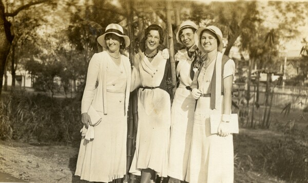 Chi Delta Nu Sorority sisters at Southern College.jpg