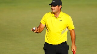 Patrick Reed takes one-shot lead at FedEx Cup opener
