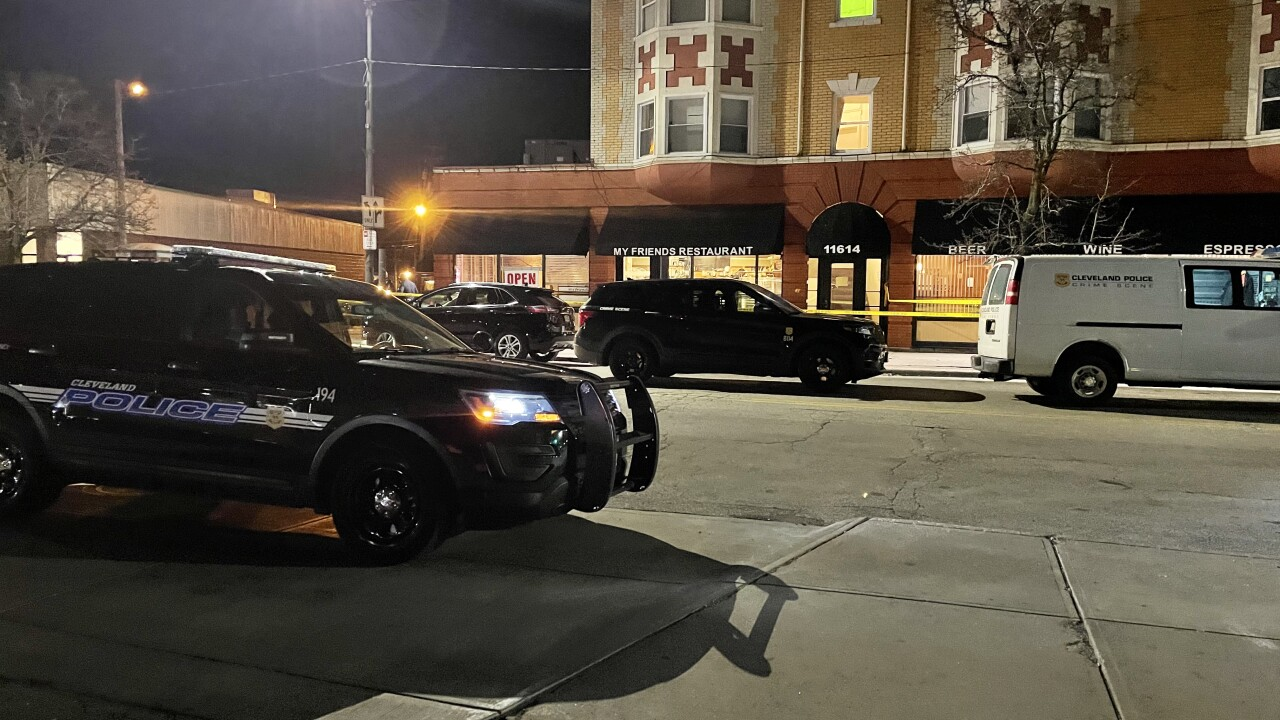 Shooting at Cleveland's My Friends Restaurant sends 3 people to the hospital, 2 in critical