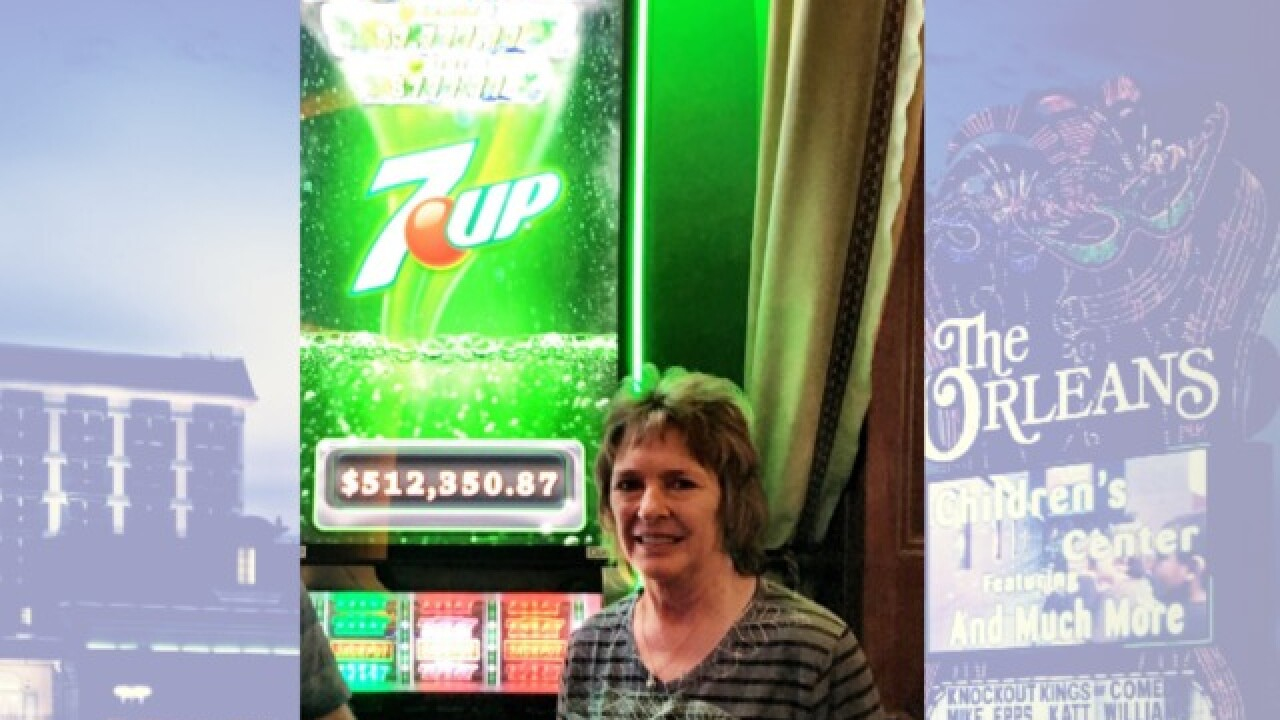 Lucky slot player hits $512K jackpot at Orleans hotel-casino