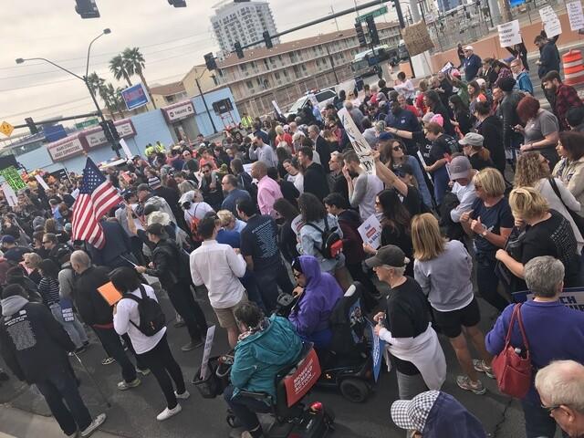 PHOTOS: March for Our Lives Las Vegas