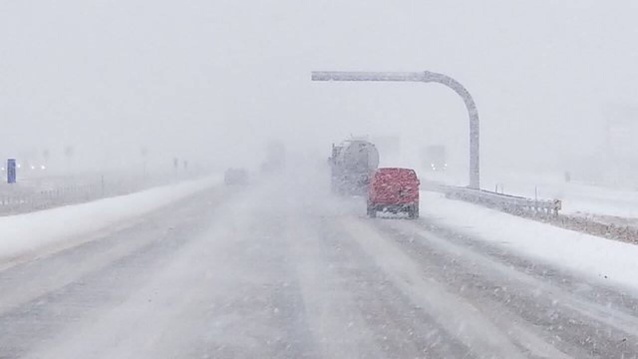 PHOTOS: Snow, freezing rain cause problems